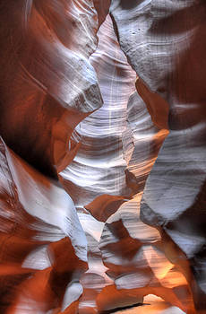 Upper Antelope Slot Canyon by Geraldine Alexander