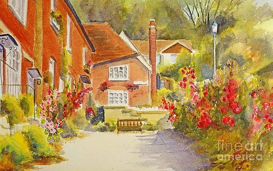 Upper church hill Hythe by Beatrice Cloake