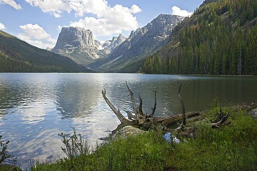 Upper Green River Lake by David Halter