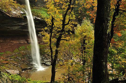 Upper Kaaterskill Falls Hidden View by Adam Paashaus