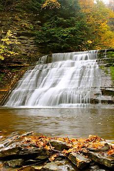 Upper Stony Brook Falls by Judd Connor