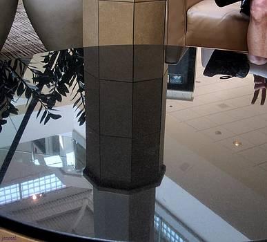 Upside Down Reflection Peace by Jen Seel