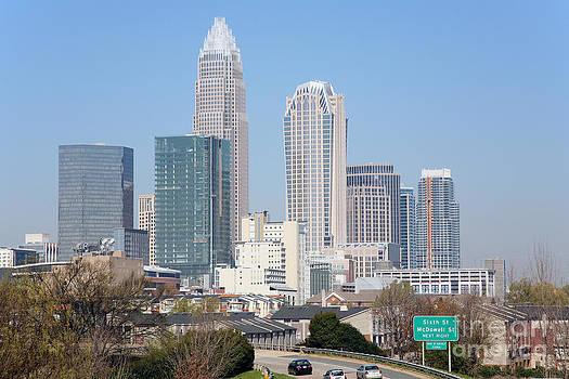 Bill Cobb - Uptown Charlotte Skyline