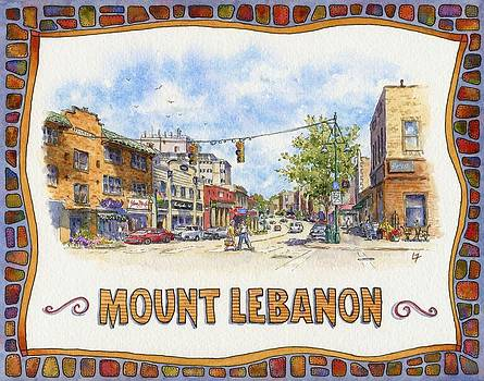 Uptown Mt. Lebanon by Leslie Fehling