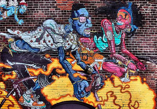 Urban Graffitti by Virginia Folkman
