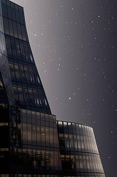 Urban Lines at night by Pavel Bendov