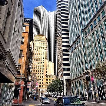Urban Streets Of San Francisco by Karen Winokan