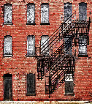 Urban tenement facade by Dick Wood