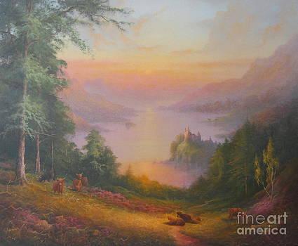 Loch Ness Urquhart Castle  by Ray Gilronan