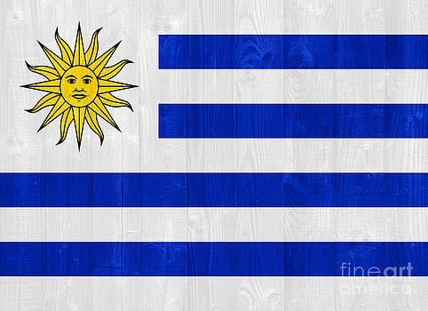 Uruguay flag by Luis Alvarenga