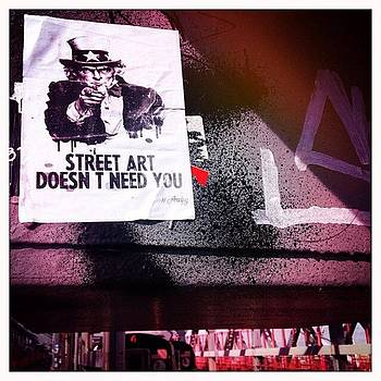 US Army for Street Art by Kerri Green