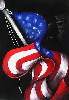 U.S. Flag by Ricky Seagroves