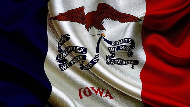 Valdecy RL - USA Iowa Flag