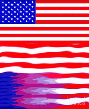 Algirdas Lukas - USA   Flag Reflection