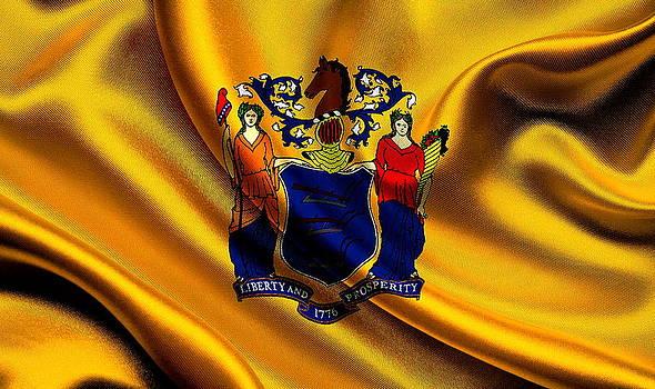 Valdecy RL - USA New Jersey Flag
