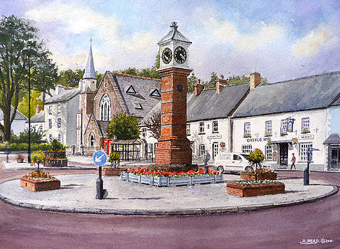 Usk in Bloom by Andrew Read