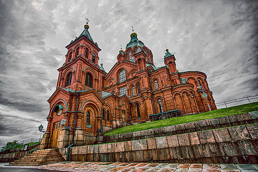 Uspenski Cathedral by Fernando Margolles