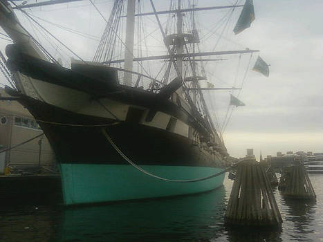 USS Constellation by Tanya Moody