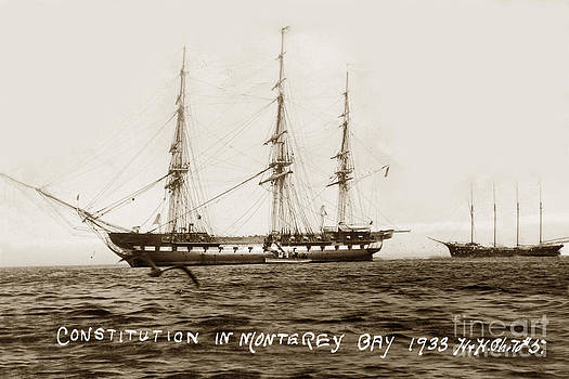 California Views Mr Pat Hathaway Archives - USS Constitution in Monterey Bay Oct 1 1933