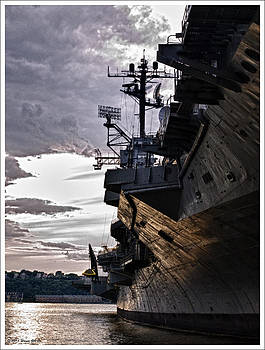 USS Intrepid by Wayne Gill