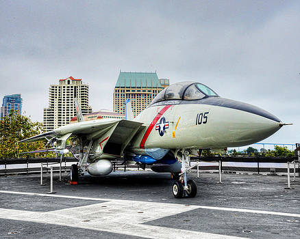 USS Midway 3 by Al Perry