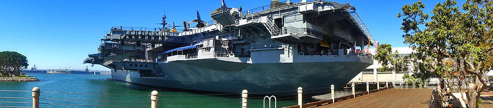 Gregory Dyer - USS Midway Aircraft Carrier - 01