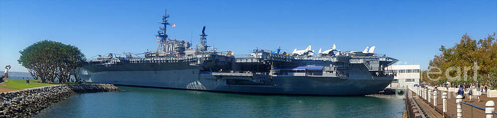 Gregory Dyer - USS Midway Aircraft Carrier - 02