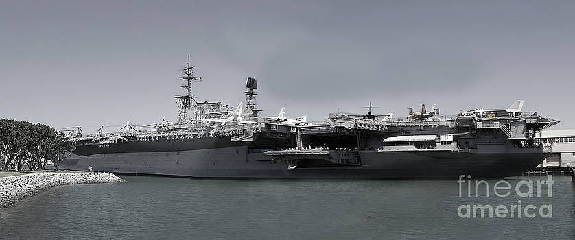 USS Midway by Russell Christie