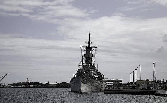 USS Missouri by Joanna Madloch