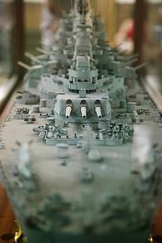 USS Missouri Model by Lori Peterson