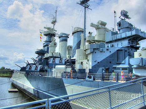 Jaclyn Hughes Fine Art - USS NC Battleship