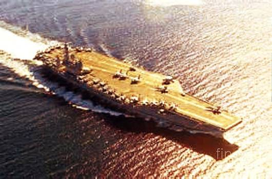 USS Nimitz by Steven  Pipella