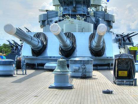 Jaclyn Hughes Fine Art - USS North Carolina