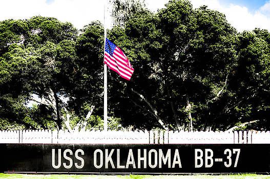 USS Oklahoma BB-37 by Lisa Cortez