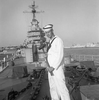 USS Pratt 1961 by Henri Bersoux