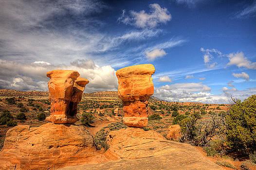 Utah Balanced Rocks by Rick Otto