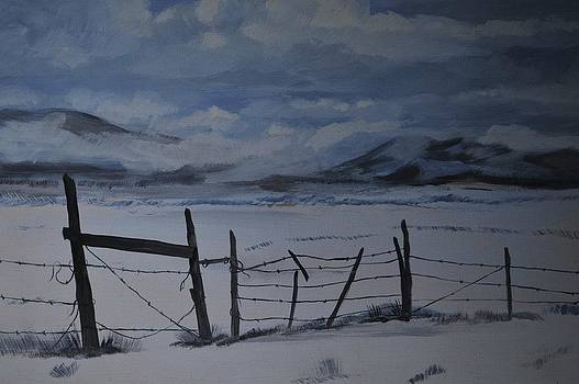 Utah Sky by Barney Hedrick