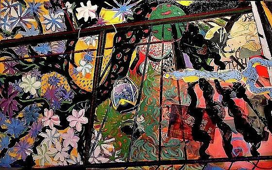 Utamaro Reflection by Bruce Brooks