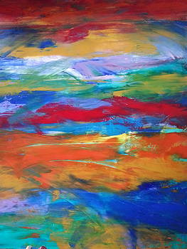 Utopia by Tanya Lozano Abstract Expressionism