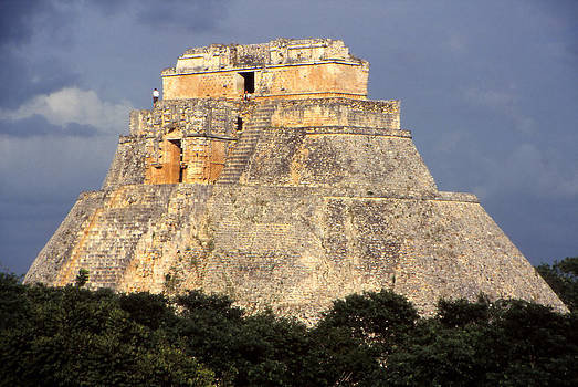 Uxmal Pyramid by Eva Kato