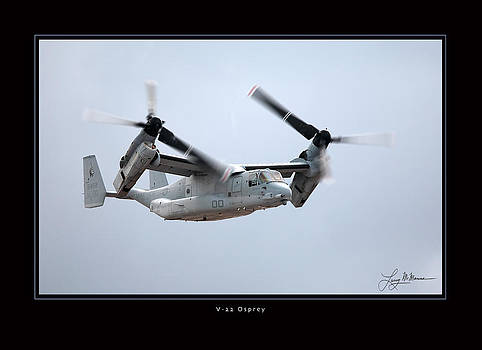 V-22 Osprey by Larry McManus