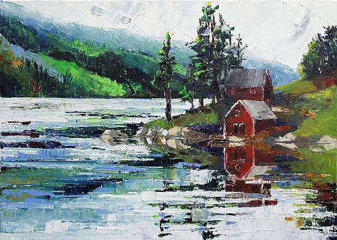Vaermland Sweden by Barbara Pommerenke