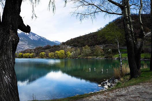 Valais Switzerland by Arylana Art