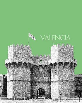DB Artist - Valencia Skyline Serrano Towers - Apple