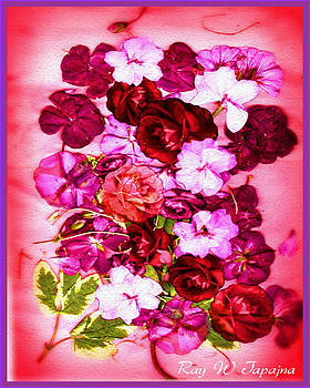Valentine Flowers for You by Ray Tapajna