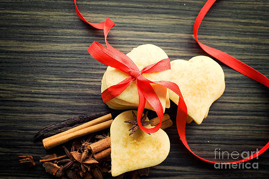 Mythja  Photography - Valentine heart cookies