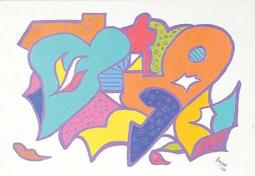 Valentine heart by Inge Lewis