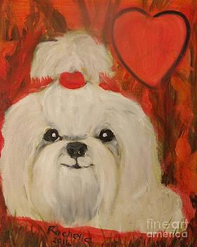 Valentine Pup by Rachel Carmichael