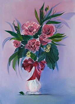 Valentine Roses by Jane Autry