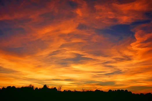 Valentine Sunset by Tammy Espino